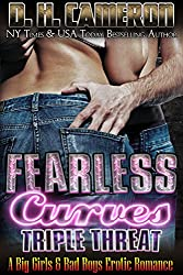 Fearless Curves - Triple Threat: A Big Girls & Bad Boys Erotic Romance (English Edition)
