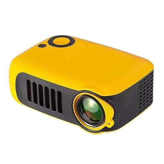 Proyector Portátil, Mini Proyector De Video De Bolsillo con SD/USB ...