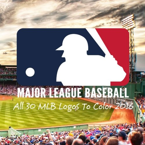 major-league-baseball-all-30-mlb-logos-to-color-2016-great-childrens-coloring-book-unique-birthday-g