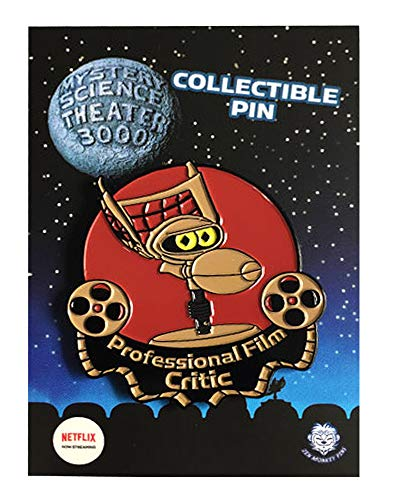 Crow Professional Film Critic - MST3K Collectible Pin (Servo Pins)