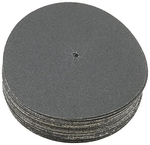 Sungold Abrasives 87402 Plain Backed Edger Sanding Discs For Floor Sanders Heavyweight Silicon Carbide Paper With 7