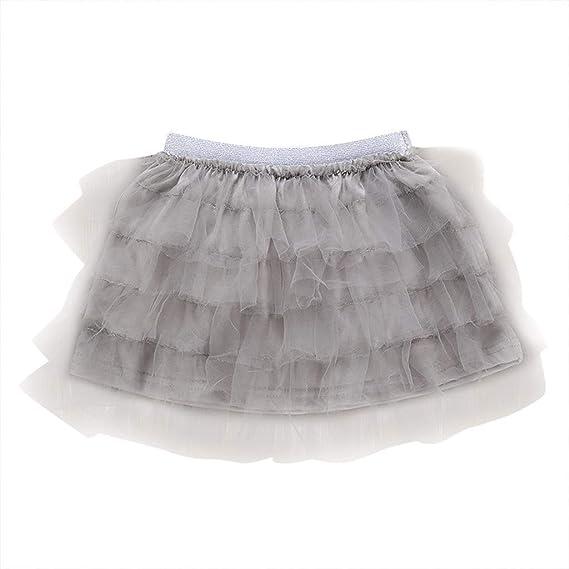 Livoral - Falda elástica para niña, para Danza de bebé, para ...