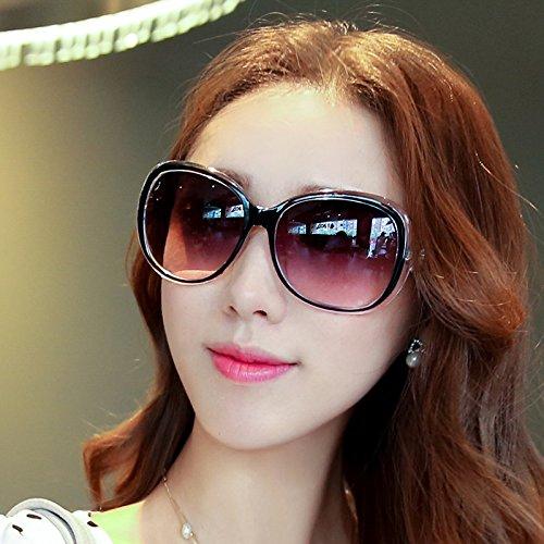 élégante nouvelle personnalité des lunettes de soleil mesdames les lunettes de soleil les lunettes la marée de stars visage rond korean les yeuxtransparent blanc (tissu) jqhlo9ZJVF