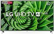 """Smart TV 82"""" LG 82UN8000PSB Ultra HD 4K LED HDM"""