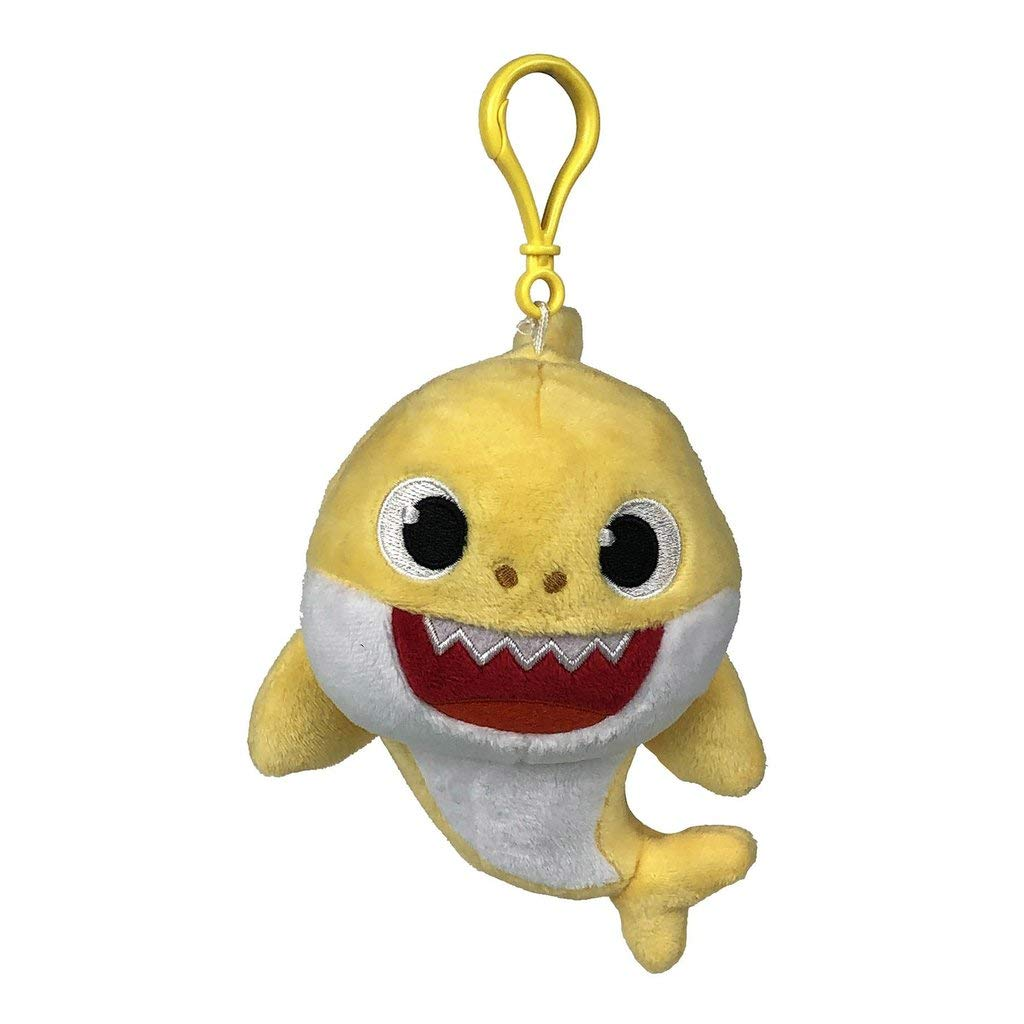 Pinkfong Baby Shark Plush Keychain Baby Shark - Baby Shark Plush Clip On  Keychain from Hit Song - Official Baby Shark Stuffed Animal Clip for Bags,  Lunch Boxes, Backpacks: Amazon.in: Toys &