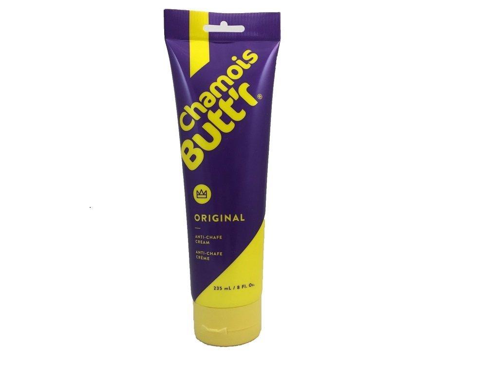 Chamois Butt'r Original Anti-Chafe Cream, 8 Ounce Tube (2)