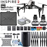 DJI INSPIRE 2 and DJI Goggles Combo with CinemaDNG & Apple Pro Res License Keys - Dual Remote Bundle