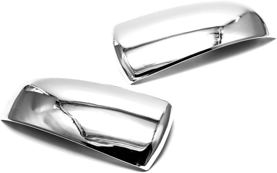erushautoparts Ultra Chrome Door Mirror Cover For 2008-2012 Chevrolet Malibu