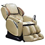 Osaki OS-4000LS Zero Gravity Heated Massage Chair, Cream