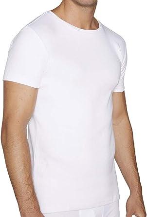 YSABEL MORA Camiseta Algodón Manga Corta para Hombre: Amazon.es: Ropa y accesorios