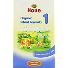 Holle - Lait bio en poudre pour bébé groupe 1 Formula Stage-1 400 g (lot de 2)