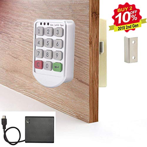 Electronic Cabinet Lock - Digital Keypad Cabinet Lock with ...