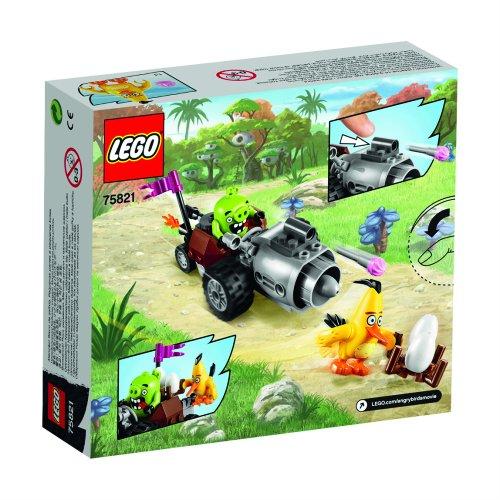 LEGO Angry Birds 75821 Piggy Car Escape Building Kit 6137885 74 Piece