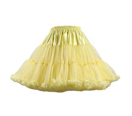 Mujer Tutu Petticoat Adulto Suave Niñas Ropa Múltiples Capas Una ...