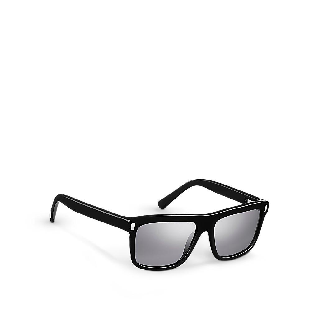 Louis VUITTON exaltación Negro Gafas de sol z0698 W: Amazon ...