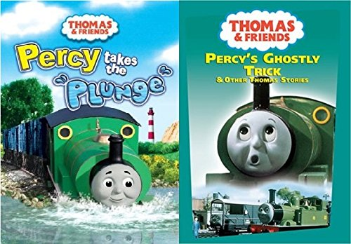 2 DVD Thomas Set - Thomas & Friends Wooden Tank Train Engine - Brand New Sealed