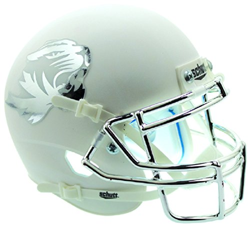 Schutt NCAA Missouri Tigers Replica XP Football Helmet, Matte White Alt. 6