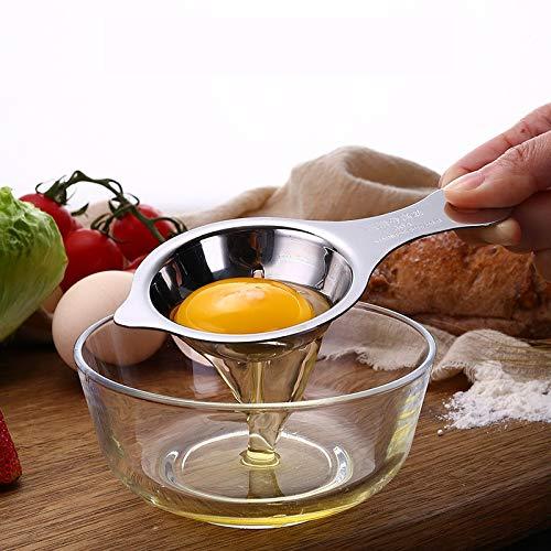 Stainless Steel Egg White Yolk Filter, Cooking Tool Dishwash