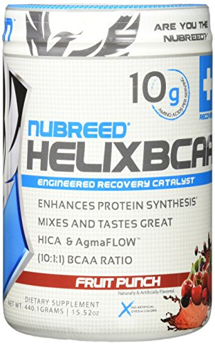 Nubreed Nutrition Helix 30 Serve, Fruit Punch, 15.52 Ounce Review
