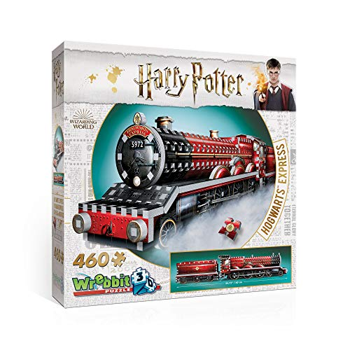 WREBBIT 3D Hogwarts Express 3D Jigsaw Puzzle (460 Pieces) for sale  Delivered anywhere in USA