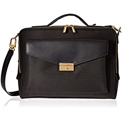Tumi Women's Larkin Small Erin Brief Briefcase, Black, One Size