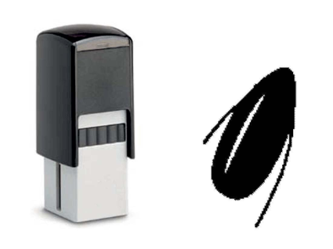 Bonuskarte Verkauf Bonus Wellness Handpflege Fingern/ägel BONUSKARTENSTEMPEL /« NAGELSTUDIO /» Stempel mit Motiv 10x10 mm