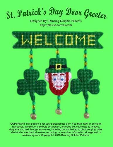 St. Patrick's Day Door Greeter: Plastic Canvas ()