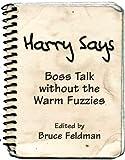 Harry Says, , 1883423120