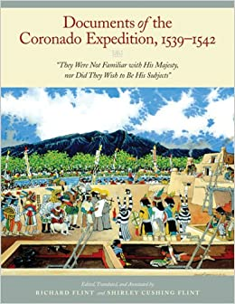 Book Documents of the Coronado Expedition, 1539-1542: