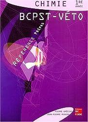 Chimie 1e année BCPST-VETO