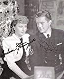 Christmas In Connecticut Movie Cast - Magazine Photograph Signed with co-signers