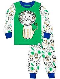 Harry Bear Boys Pajamas King of The Jungle