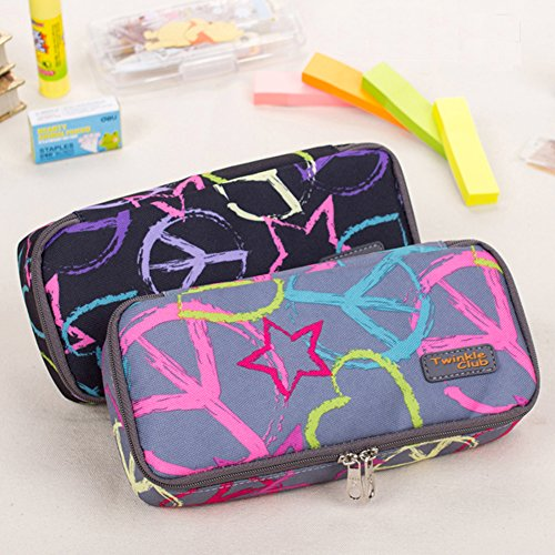 Pencil Case, Twinkle Club Pen Bag Makeup Pouch - Justin Bieber Cool Case