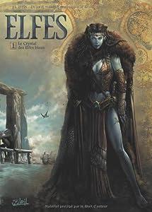 "Afficher ""Elfes n° 1<br /> Le crystal des Elfes bleus"""