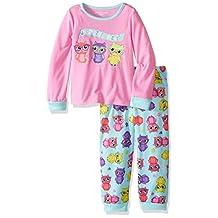 Komar Kids girls Big Girls Owl 2pc Set