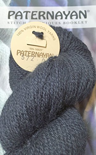 Paternayan Needlepoint 3 Ply Wool Yarn Color 572 Navy Blue