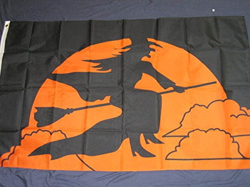 f 3x5 Halloween Witch Flag Holiday Decoration Banner Party Pennant Outdoor Decor ()