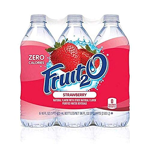 Fruit2O Calorie Flavored Water Strawberry product image