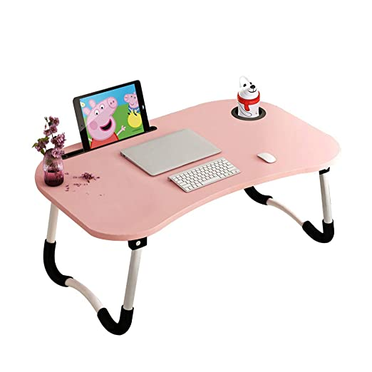Cxmm - Mesa Plegable para Ordenador portátil, para Estudiante ...