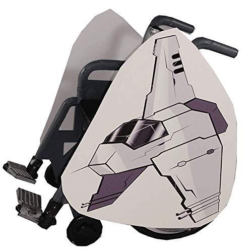 Dark Side Fighter Jet Wheelchair Costume -