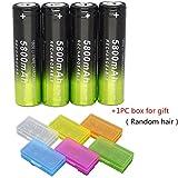 Start 5800mAh Li-ion 3.7V 18650 Rechargeable Battery For Flashlight Torch (4pcs)