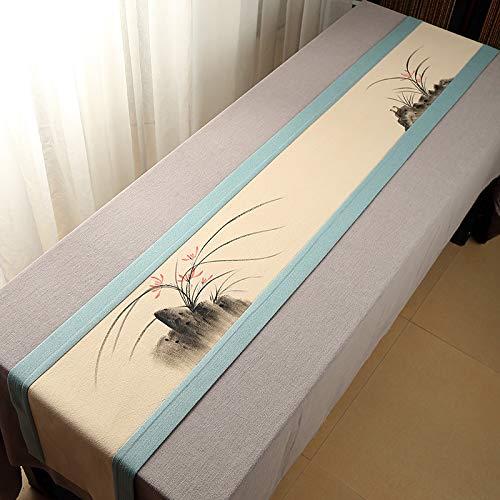 30  350 zq3 LybZqi Chemin de Table Nappe Articles de Maison de décoration, Lin de Coton Asiatique, 40  350
