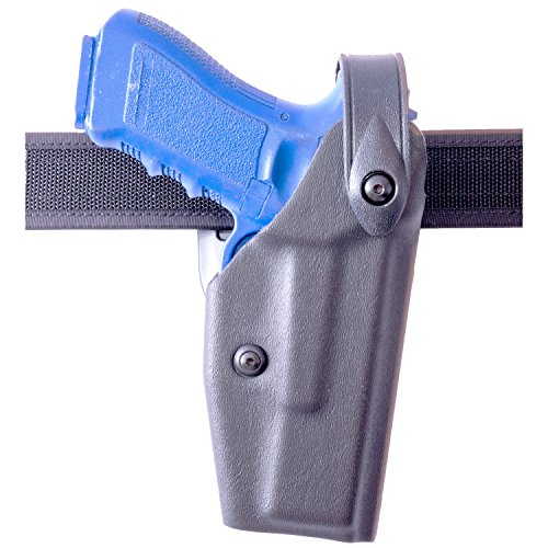 Safariland 6285 Level II SLS Retention Duty Holster, 1.5-Inch Belt Drop, Black, STX Tactical, Glock 17, 22, Right Hand (Belt Drop 6285 Holster Duty)