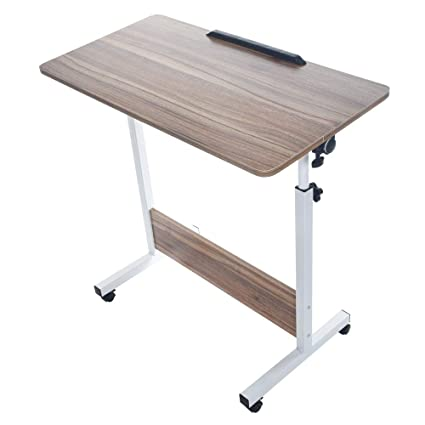 Office table with wheels Tall Hp95 Household Computer Desk Folding Office Table Desk White Can Be Lifted And Folded Metal Frame Wp Mastery Club Amazoncom Hp95 Household Computer Desk Folding Office Table Desk