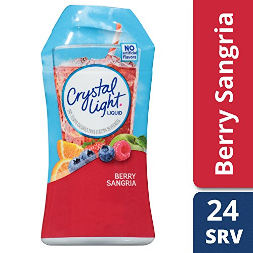 Crystal Light Liquid Energy Drink, Berry Sangria, 1.62 Ounce