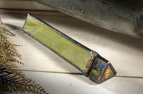 J Devlin Kal 113 Green Stained Glass Kaleidoscope Gift by J Devlin Glass Art (Image #3)