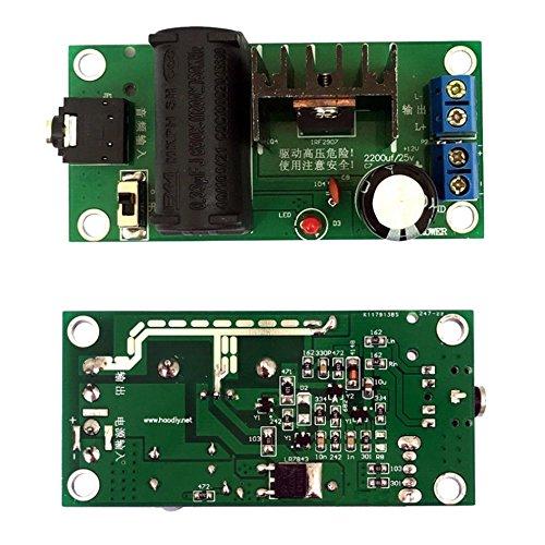 SODIAL(R) 20kv ZVS Tesla coil Booster high voltage generator Plasma Music Arc Speaker Kits