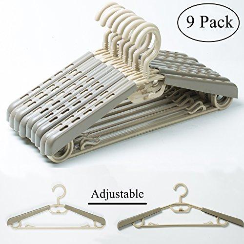KChoies 9 Pack Plastic Extra Wide