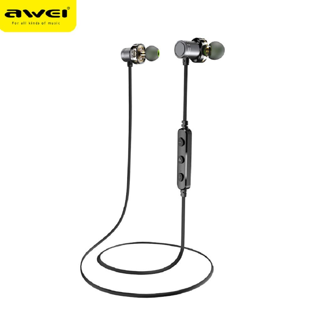 Amazon.com: ZYX AWEI X670BL Wireless Sports Bluetooth Headset, Metal Magnetic, Stereo Sound Quality, no Noise, Light Neck-Mounted Waterproof Headset: ...