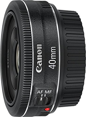 Canon 40mm f/2.8 STM EF Aspherical Prime Lens for Canon DSLR Camera